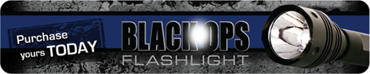 Order Your BlackOps Flashlight™ Online